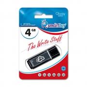 USB-флеш 4GB Smart Buy Glossy Черный