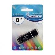 USB-флеш 8GB Smart Buy Glossy Черный